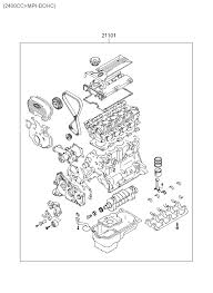 sub engine assy for 2002 hyundai santa fe hyundai parts deal 2002 hyundai santa fe sub engine assy diagram 2020112