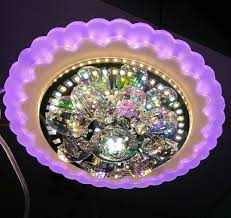 3 colors round fancy led ceiling light