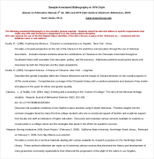 10 Free Annotated Bibliography Templates Free Sample