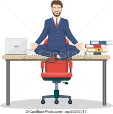 office meditation. Beautiful Office Business Man Manager Sitting On Office Desk  Csp50255015 Intended Office Meditation A