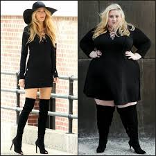 plus size thigh high socks celeb style made plus size blake lively look