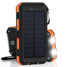 details about waterproof 300000mah 2 usb portable solar battery charger solar power bank diy