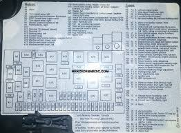 fuse box 1998 2005 mercedes benz ml location diagram fuse chart ml320 ml350 ml55 ml500