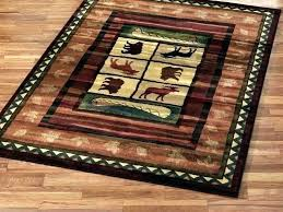 rustic lodge style area rugs log cabin photo 5 of 7 retreat rug for furniture village