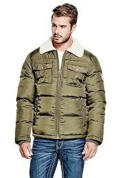 michael puffer jacket guess uk guess coats guess clothing uk