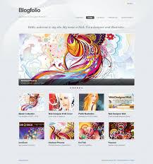 art portfolio template best template websites for artists 13 best portfolio web templates
