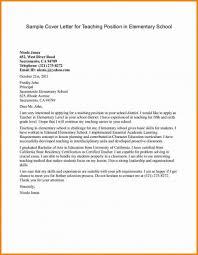 028 Teaching Cover Letter Template Sample Resume Teachers