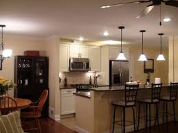 Hanging Lights In Kitchen Track Lighting Kitchen Rustic Charming Kitchen Lights Style