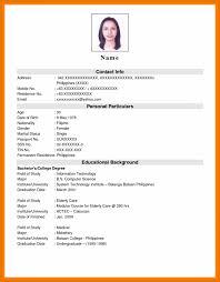 Samples Of Resume For Job Resume Sample Job Application Krida 60