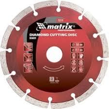 Сегментный отрезной <b>алмазный диск Matrix</b> Professional 150x22 ...