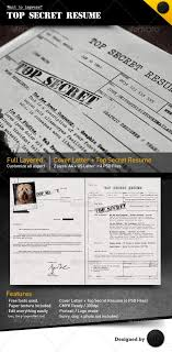 Simple Resume Templates Gorgeous Top Secret Resume CV By Dengio Top Secret Resume Is A Great CV To