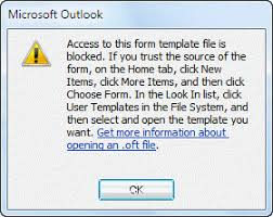 open outlook template how to open outlook templates and files using toolbar buttons