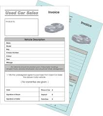 car s invoice business office industrial 2 x used car invoice duplicate ncr pads