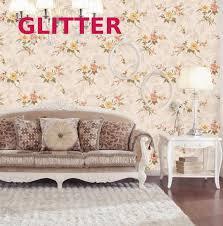 Modern 3d Flower Living Room Background Wallpaper Little Girl Pink Bedroom  Wallpaper Green Thickened Flower Wallpaper