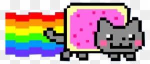 Nyan Cat Graph Paper Nyan Cat Gif Png Free Transparent Png