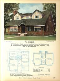 The camden home builders catalog plans of all types of small homes by home builders catalog co