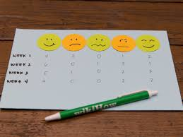 Make A T Chart How To Create A Mood Chart For Yourself 8 Steps With Pictures