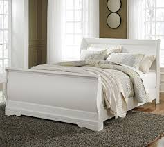 Ashley Signature Design Anarasia Queen Sleigh Bed - Item Number: B129-77+74