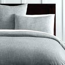 white textured duvet cover king grey organic solid texture sham dark bedrooms ideas