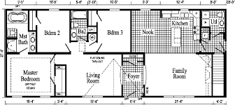 Floor Plans for Ranch Homes   Jamestown Ranch Style Modular Home - Pennwest  Homes Model #