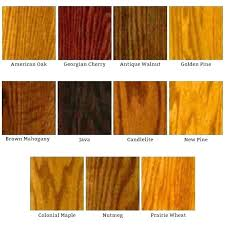Mahogany Stain Color Chart Wood Finish Stain Colors Eventize Co