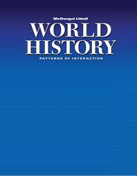 World History Textbook Patterns Of Interaction Simple Modern World History Textbook Social Tb