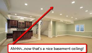 basement ceiling lighting ideas. Interior Drop Ceiling Lighting Ideas Imposing On Within For Household Basement S