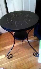gorgeous ikea metal bedside table ikea noresund blackbrown nightstand side table 18 flickr