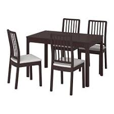Ikea dining room chairs Linneryd Ikea Ekedalenekedalen Table And Chairs Ikea Dining Table Sets Dining Room Sets Ikea