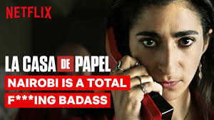 Nairobi is a Total F***ing Badass | <b>La Casa de Papel</b> | Netflix ...