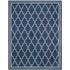 safavieh amherst marion navy beige indoor outdoor moroccan area rug common 9