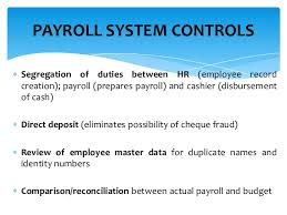 Payroll Control Risk Management Fraud Prevention