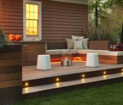 deck stair lighting ideas. 15 mustsee deck lighting ideas stair
