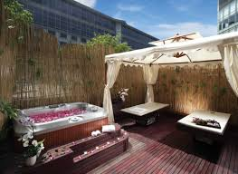 Terrific Small Backyard Designs With Hot Tubs Pictures Decoration Ideas ...
