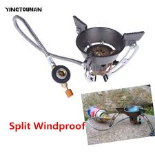 brs 11 portable windproof outdoor gas burner camping stove gas cooker hiking climbing picnic gas