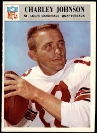 Amazon.com: 1966 Philadelphia # 163 Charlie Johnson St. Louis Cardinals-FB  (Football Card) Dean's Cards 5 - EX Cardinals-FB: Collectibles & Fine Art