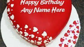 Birthday cakes with name for lover ~ Birthday cakes with name for lover ~ Valentines day cakes for him ? enam valentine