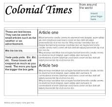 Newspaper Template Free Google Docs Newspaper Template Download Indesign Publisher