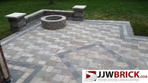 backyard paver patio and landscape