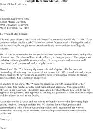 Sample College Reference Letters Sample College Recommendation Letter From Math Teacher Recom