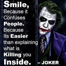Joker Quotes Extraordinary Dialogue Smile Because It Confuses People When Is This Said
