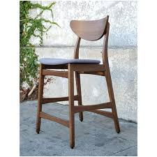 chic modern bar stools. Contemporary Chic Chic Modern Bar Stools Mid Century Style Walnut A Pair With R