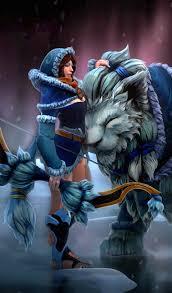 photos dota 2 mirana archers girls fantasy games magical 600x1024