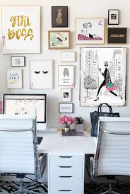 work home office ideas. Wonderful Home Best Home Office Ideas For Bloggers And Girl Bosses Beautiful Intended Cute  Desk Work Decorations 19 S