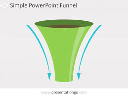 Funnel Powerpoint Template Free Simple Funnel Diagram For Powerpoint Presentationgo Com
