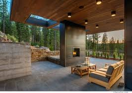 beautiful two sided fireplace indoor outdoor photos interior pros and cons p