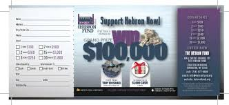 Reverse Raffle Rules Grand Raffle Win Big Support Hebron The Hebron Fund