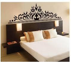 bedroom elegant styles of ideas including attractive headboard wall stickers for bedrooms pictures baroque decals queen