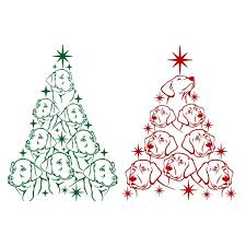 Holiday posters, banners, cards and much more, all ready to download in jpg and svg. Dog Labrador Christmas Tree Svg Cuttable Design Christmas Tree And Dogs Christmas Dog Christmas Cards Handmade