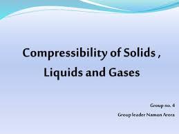 compressibility of gases. compressibility of gases